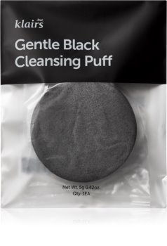 Klairs Gentle Black Cleansing Puff for Face