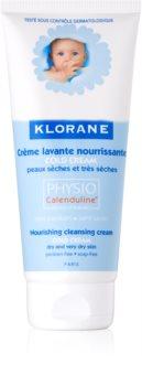 Klorane Bébé Cold Cream nährende Reinigungsmilch für trockene und sehr trockene Haut