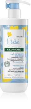 Klorane Bébé Calendula No Rinse Cleansing Milk For Normal And Dry Skin