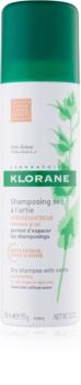 Klorane Nettle suchý šampon pro mastné tmavé vlasy