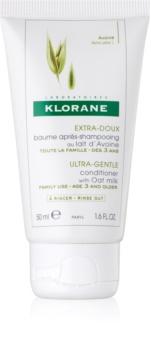 Klorane Oat Milk jemný kondicionér pro časté mytí vlasů