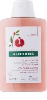 Klorane Pomegranate šampón pre farbené vlasy