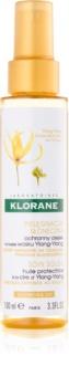 Klorane Ylang-Ylang aceite protector para cabello maltratado por el sol
