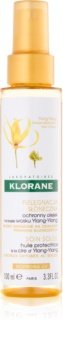 Klorane Ylang-Ylang ochranný olej pro vlasy namáhané sluncem