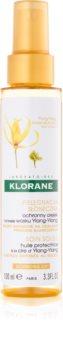 Klorane Ylang-Ylang захисна олійка для волосся пошкодженого сонцем