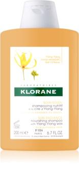 Klorane Ylang-Ylang intenzívne vyživujúci šampón pre vlasy namáhané slnkom