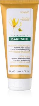 Klorane Ylang-Ylang obnovujúci kondicionér pre vlasy namáhané slnkom