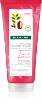Klorane Cupuaçu Fleur de Groseillier crema de ducha hidratante intensiva