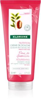 Klorane Cupuaçu Fleur de Groseíllíer creme de duche hidratante intensivo