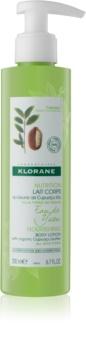 Klorane Cupuaçu Eau de Yuzu cremă ușor hidratantă și loțiune de corp hrănitoare