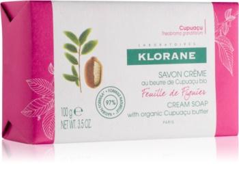 Klorane Cupuacu Listy fíkovníku mýdlo