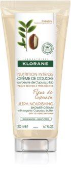 Klorane Cupuaçu Fleur de Cupuacu crema de ducha nutritiva intensiva