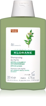 Klorane Myrtle šampón proti mastným lupinám