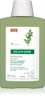 Klorane Myrtle Shampoo gegen fettige Schuppen