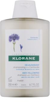 Klorane Centaurée šampón pre blond a šedivé vlasy