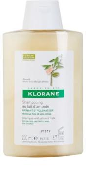 Klorane Amande shampoing pour donner du volume