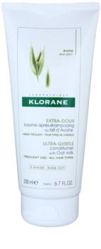 Klorane Oat Milk jemný kondicionér pro snadné rozčesání vlasů