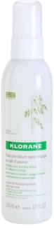 Klorane Oat Milk spray sem enxaguar para fácil penteado de cabelo