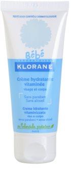 Klorane Bébé hidratantna krema za lice i tijelo