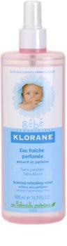 Klorane Bébé spray pe baza de apa pentru reimprospatare pentru copii