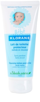 Klorane Bébé leite de limpeza para crianças