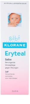 Klorane Bébé Erytéal захисний крем проти попрілостей у дітей
