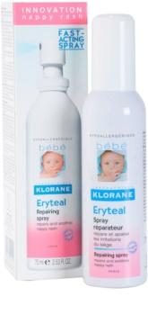 Klorane Bébé Erytéal spray przeciw odparzeniom