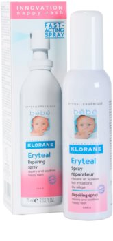 Klorane Bébé Erytéal Spray To Treat Diaper Rash