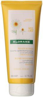 Klorane Chamomile Verhelderende Conditioner  voor Blond Haar