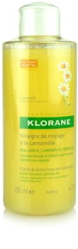 Klorane Chamomile tratamento para cabelo loiro e grisalho