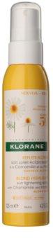Klorane Chamomile spülfreie Pflege zum Aufhellen und Betonen von blonder Haarfarbe