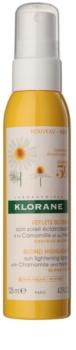 Klorane Chamomile tratament leave-in iluminare pentru părul blond