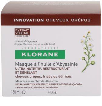 Klorane Crambe d'Abyssinie erősítő maszk hullámos hajra