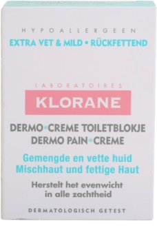 Klorane Dermo Pain Creme Soap For Combination To Oily Skin