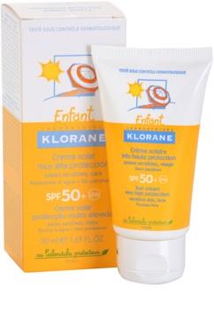 Klorane Kids crème solaire pour enfant SPF 50+