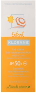 Klorane Kids Sun Cream For Kids SPF 50+