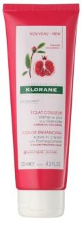 Klorane Granátové jablko bezoplachový kondicionér pro barvené vlasy