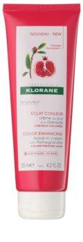 Klorane Pomegranate condicionador sem enxaguar para cabelo pintado