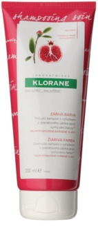 Klorane Pomegranate Anti-Fade Shampoo for Very Damaged Colour-Treated Hair