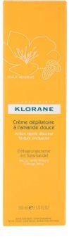 Klorane Hygiene et Soins du Corps depilačný krém