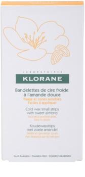 Klorane Hygiene et Soins du Corps Enthaarungswachsstreifen für das Gesicht und empfindliche Partien