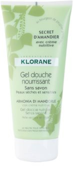 Klorane Hygiene et Soins du Corps Secret D'Amandier vyživující sprchový gel