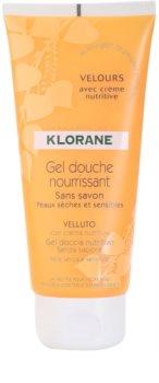 Klorane Hygiene et Soins du Corps Velours gel de ducha nutritivo