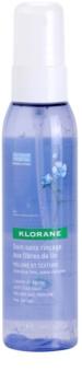Klorane Flax Fiber spray senza risciacquo volumizzante e modellante