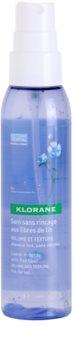 Klorane Flax Fiber спрей без отмиване за обем и форма