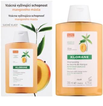 Klorane Mango поживний шампунь для сухого волосся