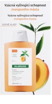 Klorane Mango shampoing nourrissant pour cheveux secs