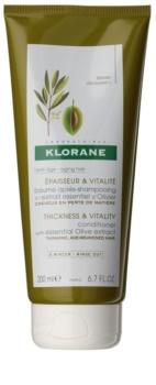 Klorane Olive Extract stärkender Conditioner für reifes Haar