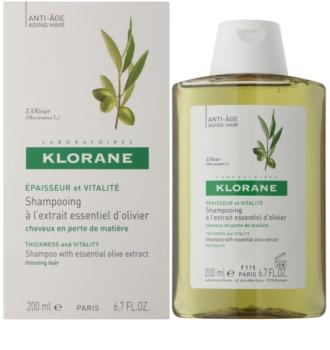 Klorane Olive Extract sampon esszenciális oliva kivonattal