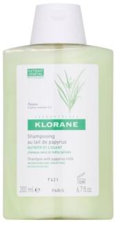 Klorane Papyrus szampon do włosów suchych, trudno poddających się stylizacji